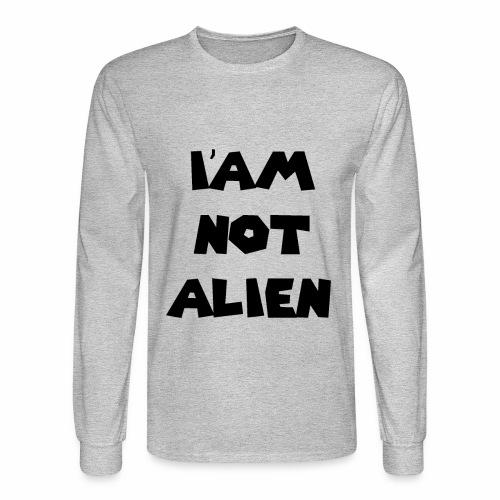 I'AM NOT ALIEN DEGSIN - Men's Long Sleeve T-Shirt