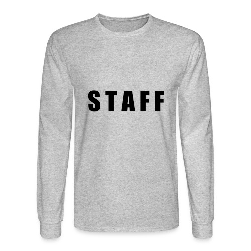 STAFF shirt - Men's Long Sleeve T-Shirt