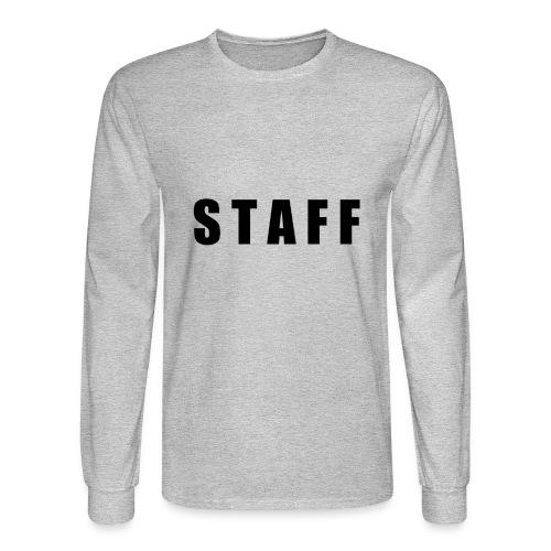 STAFF shirt - Men's Long Sleeve T-Shirt