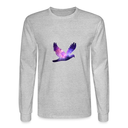 Galaxy bird - Men's Long Sleeve T-Shirt