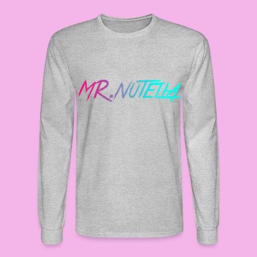 MR.nutella merch - Men's Long Sleeve T-Shirt