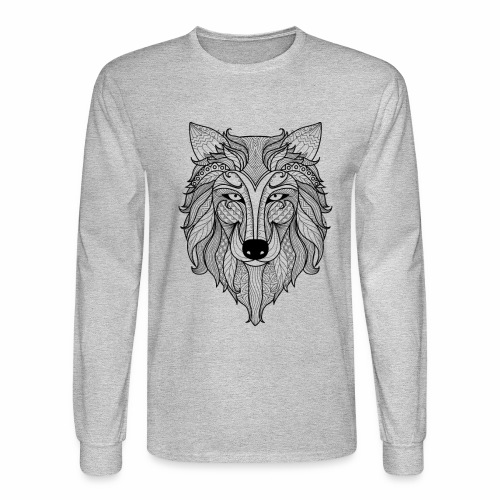 Classy Fox - Men's Long Sleeve T-Shirt