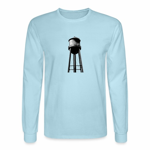 Water Tower - Men's Long Sleeve T-Shirt