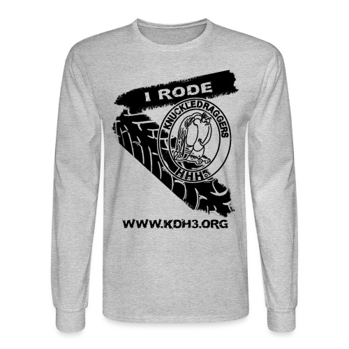 KDH3 I Rode PNG - Men's Long Sleeve T-Shirt