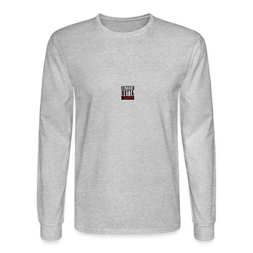straight outta sheeps - Men's Long Sleeve T-Shirt