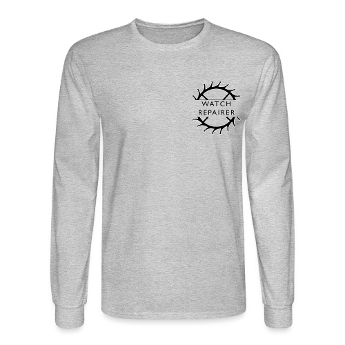 Watch Repairer Emblem - Men's Long Sleeve T-Shirt