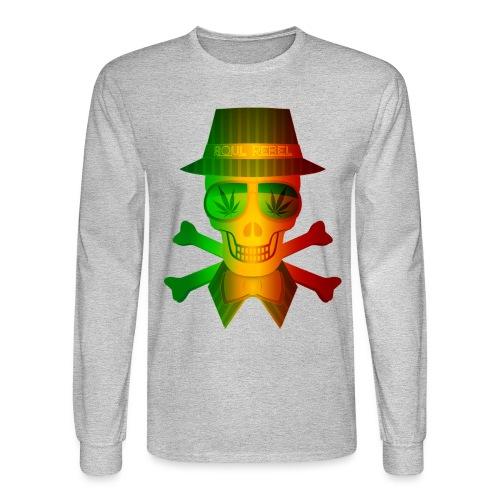 Rasta Man Rebel - Men's Long Sleeve T-Shirt