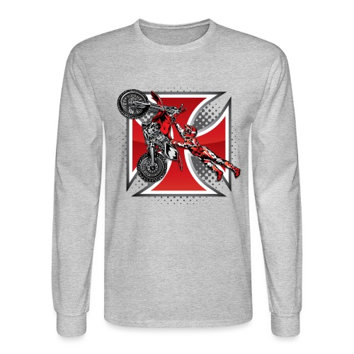 Red Baron Motocross - Men's Long Sleeve T-Shirt