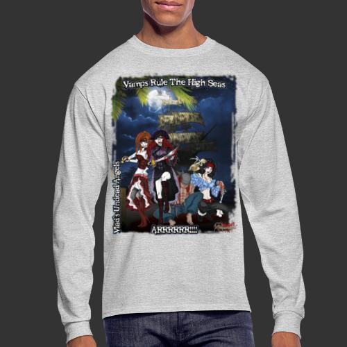 Vampire Pirates Full BG - Men's Long Sleeve T-Shirt