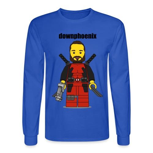 Downphoenix Shirt - Men's Long Sleeve T-Shirt