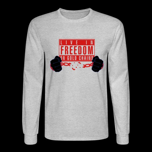 Live Free - Men's Long Sleeve T-Shirt