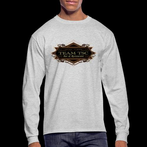 teamTSC badge03 Bar - Men's Long Sleeve T-Shirt