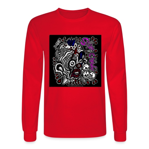 Skitzo The Clown - Men's Long Sleeve T-Shirt