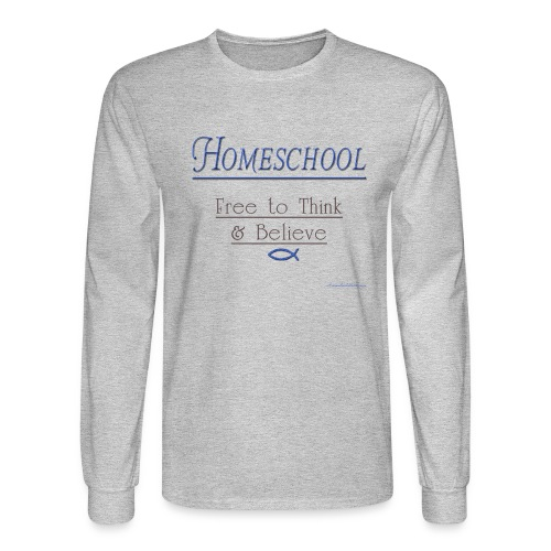 Homeschool Freedom - Men's Long Sleeve T-Shirt