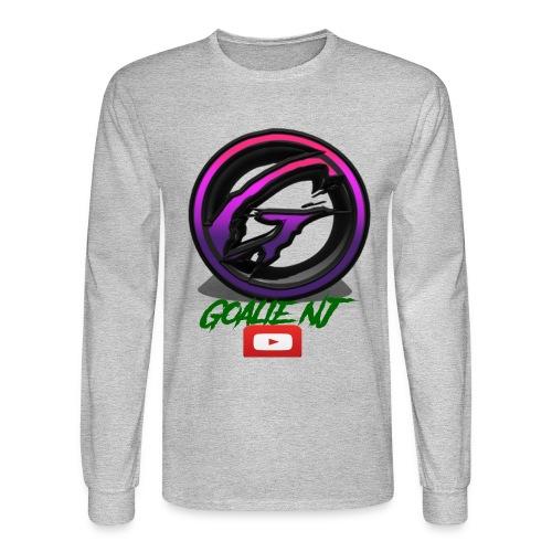 goalie nj logo - Men's Long Sleeve T-Shirt