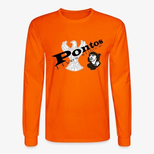 Pontos lives within me. - Men's Long Sleeve T-Shirt