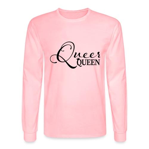 Queer Queen T-shirt 04 - Men's Long Sleeve T-Shirt
