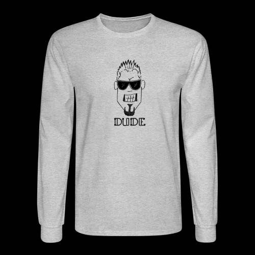 Dude Head 1 - Men's Long Sleeve T-Shirt