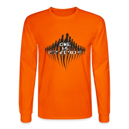 one as individuals - Men's Long Sleeve T-Shirt
