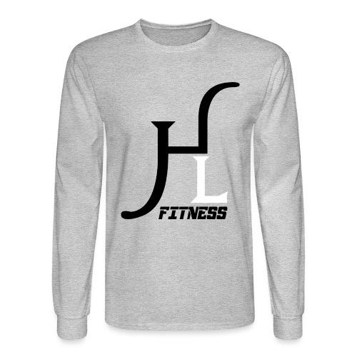 HIIT Life Fitness logo white - Men's Long Sleeve T-Shirt