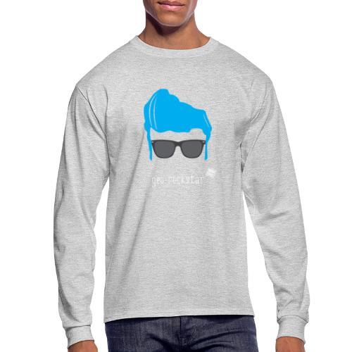 Geo Rockstar (him) - Men's Long Sleeve T-Shirt