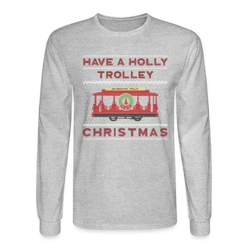 holly trolley - Men's Long Sleeve T-Shirt