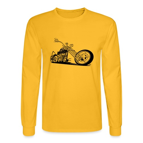 Custom American Chopper Motorcycle - Men's Long Sleeve T-Shirt