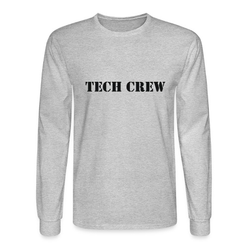 Tech Crew - Men's Long Sleeve T-Shirt