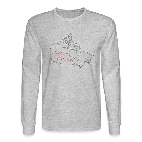 Coast to Coast - Men's Long Sleeve T-Shirt