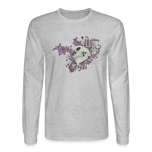 Ornamental Skull Bandana - Men's Long Sleeve T-Shirt