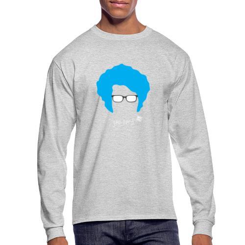 Geo Nerd (him) - Men's Long Sleeve T-Shirt