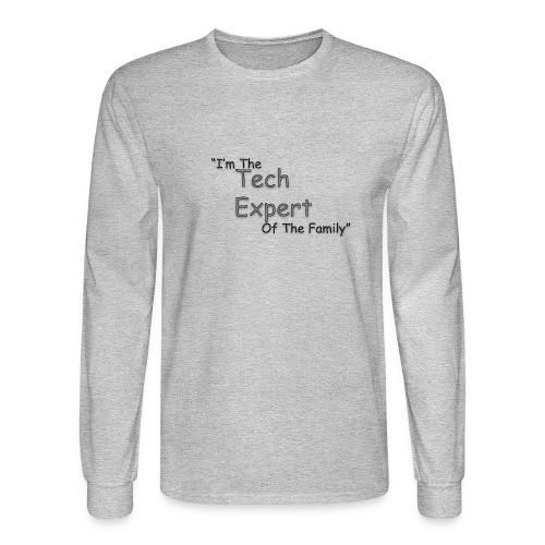 Tech Expert - Men's Long Sleeve T-Shirt
