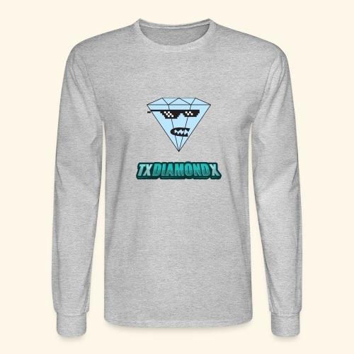 Txdiamondx Diamond Guy Logo - Men's Long Sleeve T-Shirt