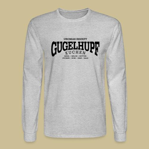 Gugelhupf (black) - Men's Long Sleeve T-Shirt
