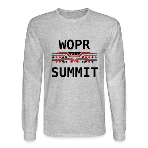 WOPR Summit 0x0 RB - Men's Long Sleeve T-Shirt