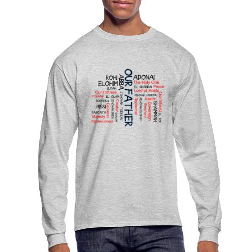 Names of God - Men's Long Sleeve T-Shirt