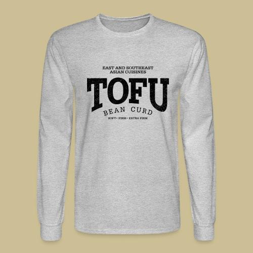 Tofu (black oldstyle) - Men's Long Sleeve T-Shirt