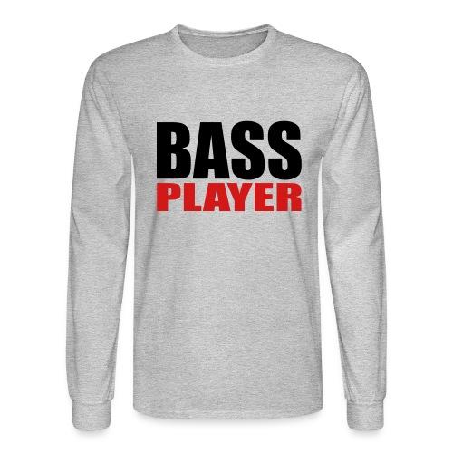 Bass Player - Men's Long Sleeve T-Shirt