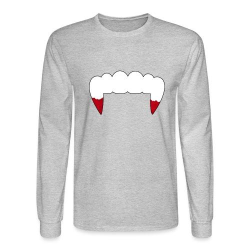 Vampire Fangs - Men's Long Sleeve T-Shirt