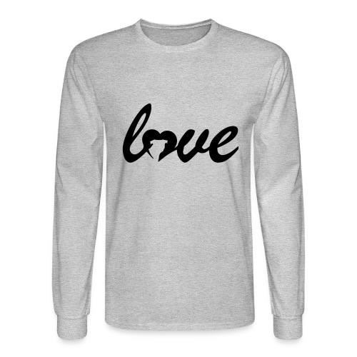 Dog Love - Men's Long Sleeve T-Shirt