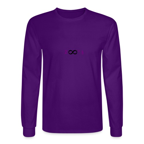 To Infinity And Beyond - Men's Long Sleeve T-Shirt