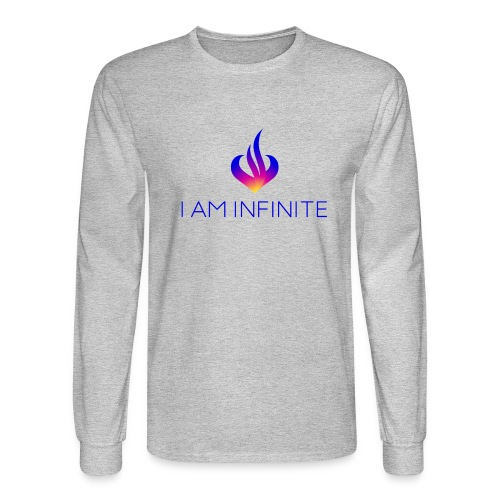 I Am Infinite - Men's Long Sleeve T-Shirt