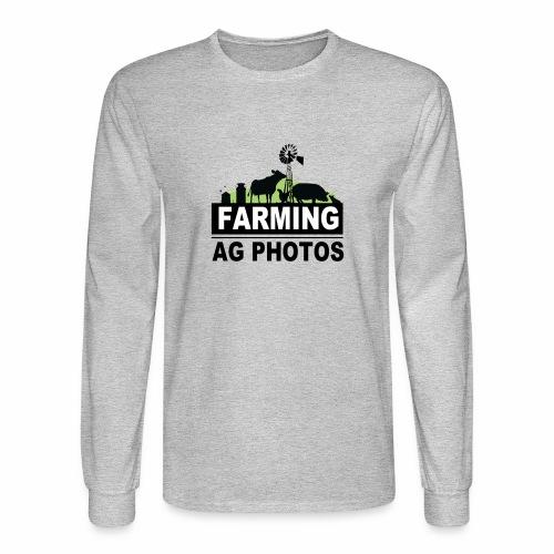 Farming Ag Photos - Men's Long Sleeve T-Shirt