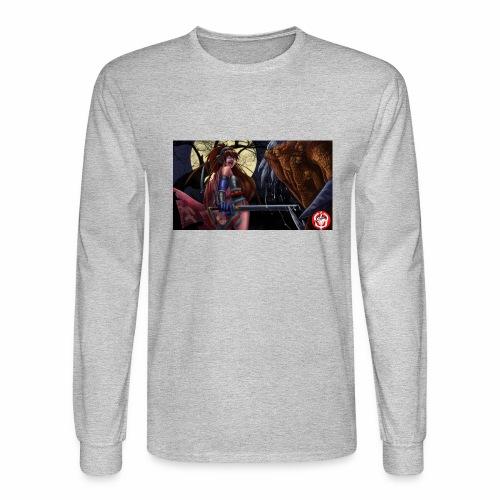 Anime Demon Hunter - Men's Long Sleeve T-Shirt
