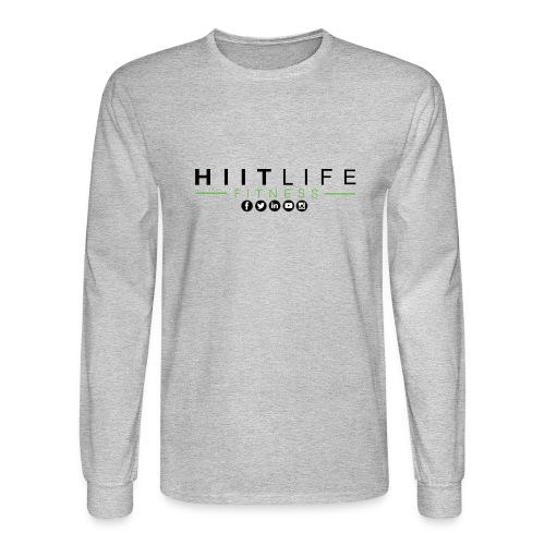HLFLogosocial - Men's Long Sleeve T-Shirt