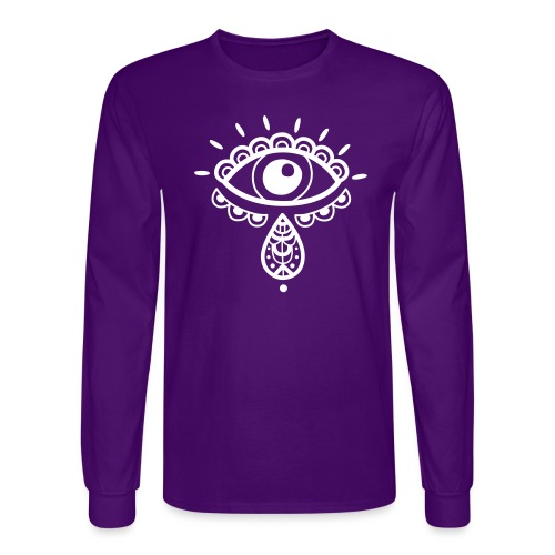 Cosmos 'Teardrop' - Men's Long Sleeve T-Shirt