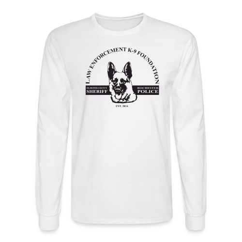 Dog Design - Men's Long Sleeve T-Shirt