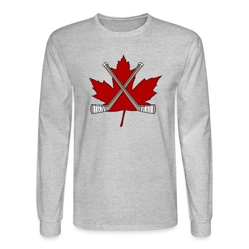 hoser logo 2016 copy png - Men's Long Sleeve T-Shirt