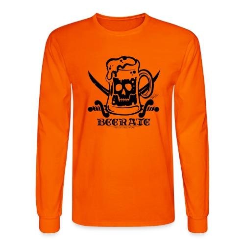 Beerate - black - Men's Long Sleeve T-Shirt