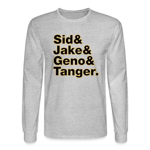 Helvetica& Hockey 2021 - Men's Long Sleeve T-Shirt